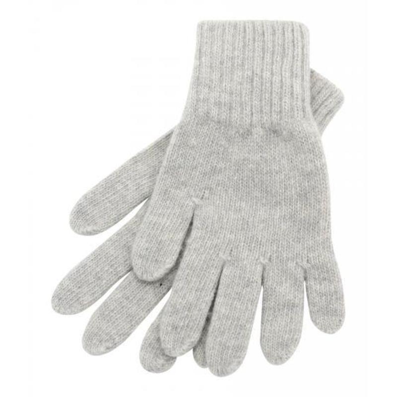 Перчатки серые