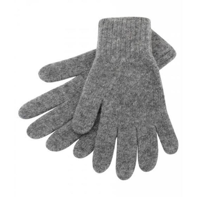 Перчатки темно-серые