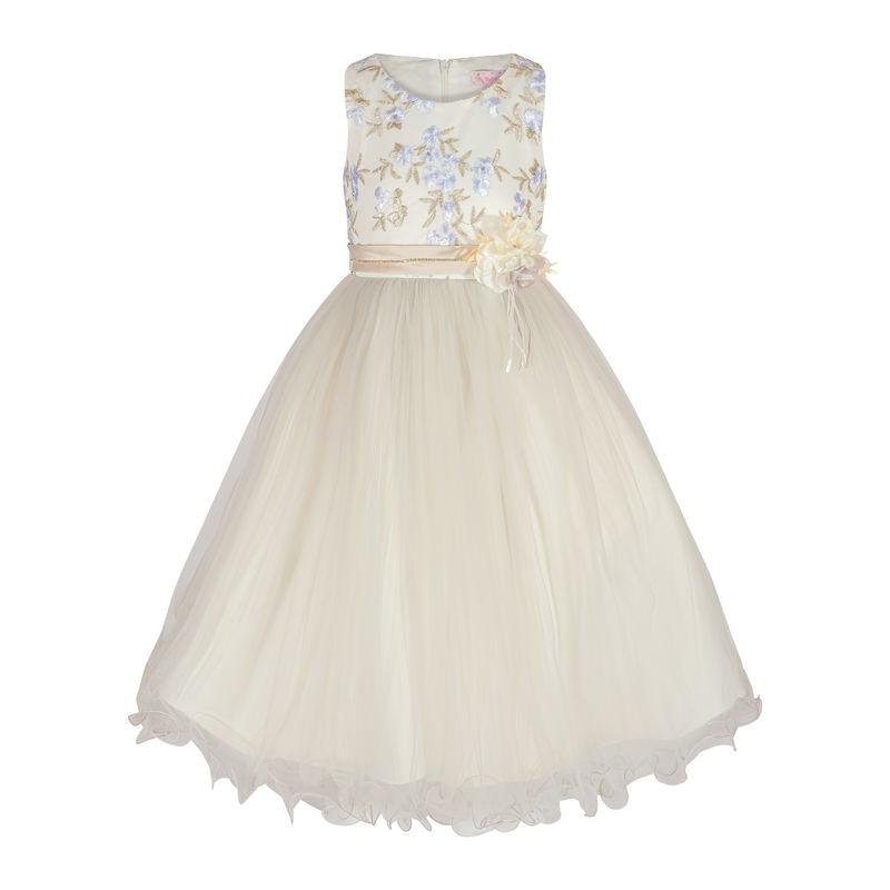Платье серое