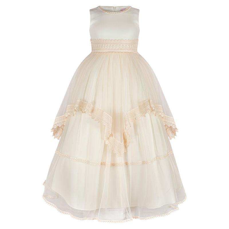 Платье цвета чайная роза
