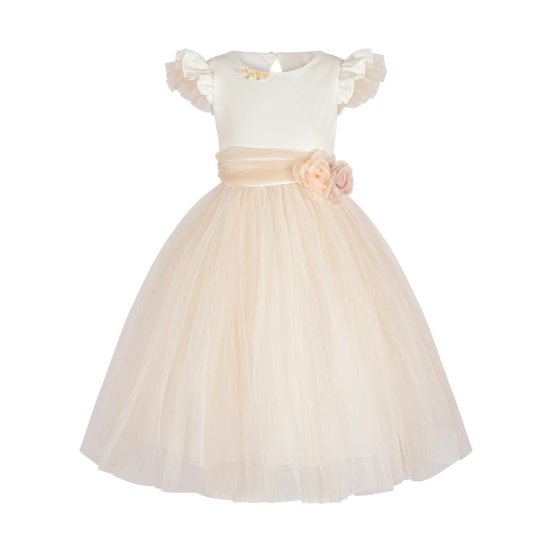 Платье айвори-бежевое