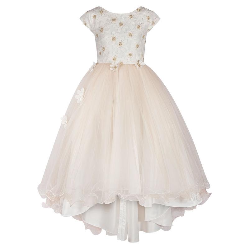 Платье цвет шампань