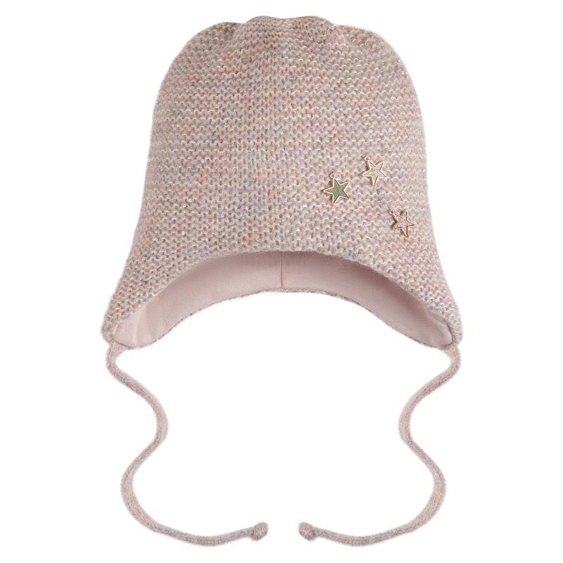 Шапка Милета розовая