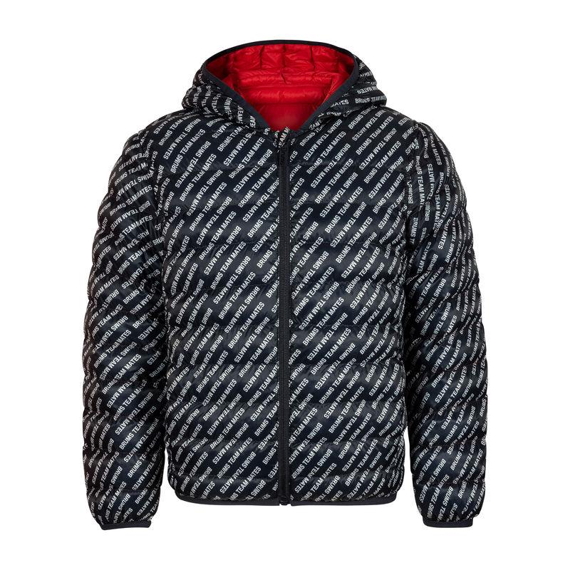 Куртка двусторонняя сине-красная