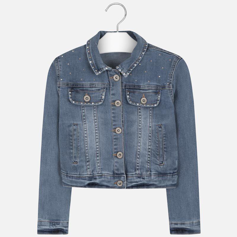 Куртка джинсовая светло-синяя