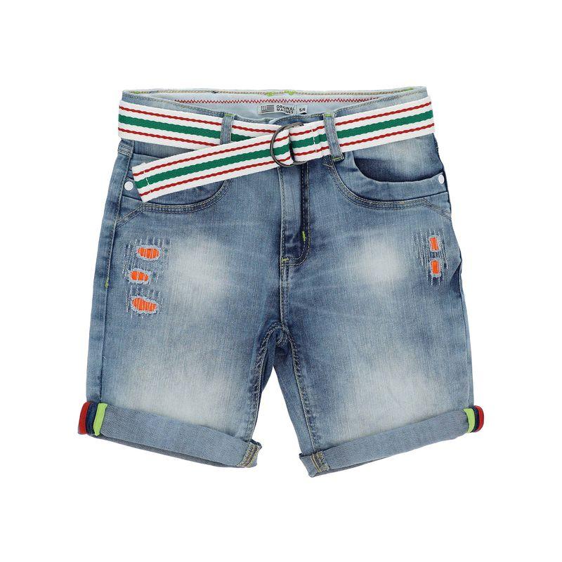 Шорты джинсовые голубые