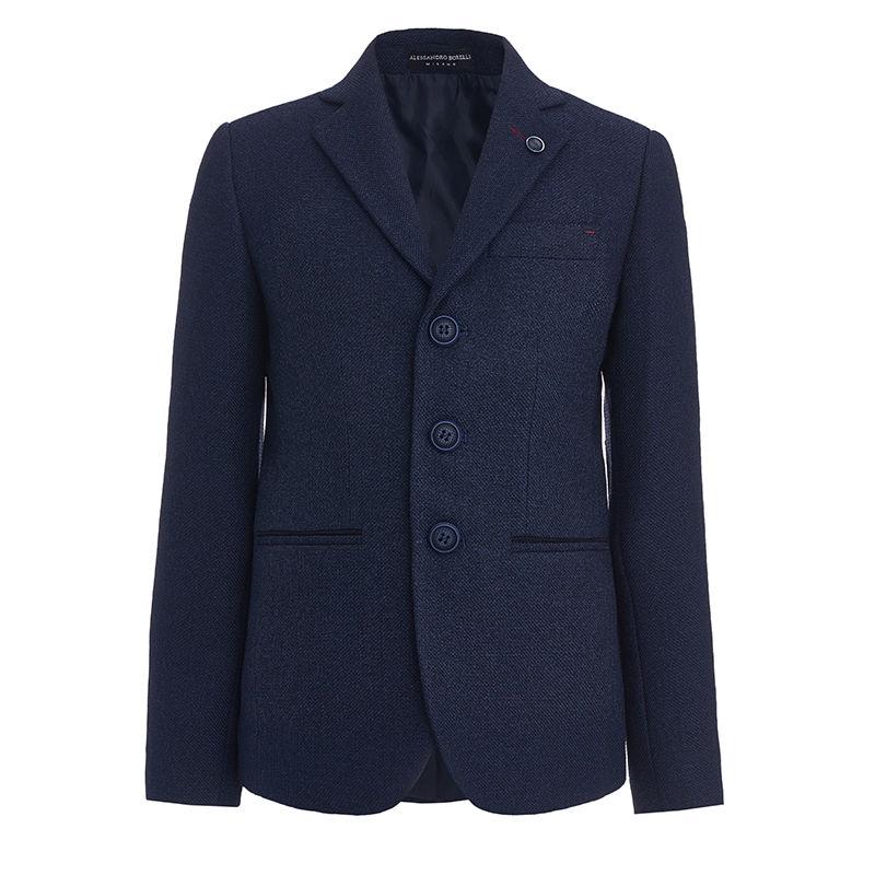 Пиджак тёмно-синий