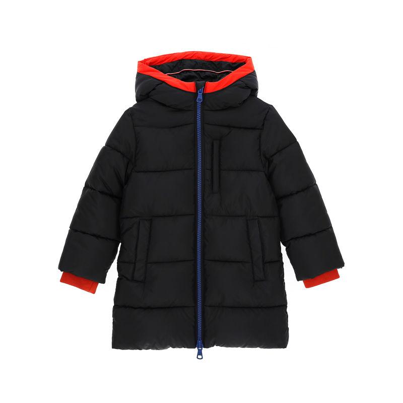 Куртка-парка чёрная