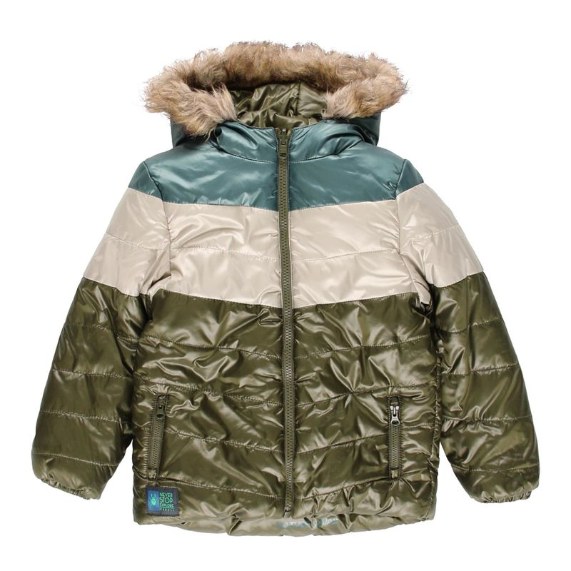 Куртка двусторонняя цвета хаки
