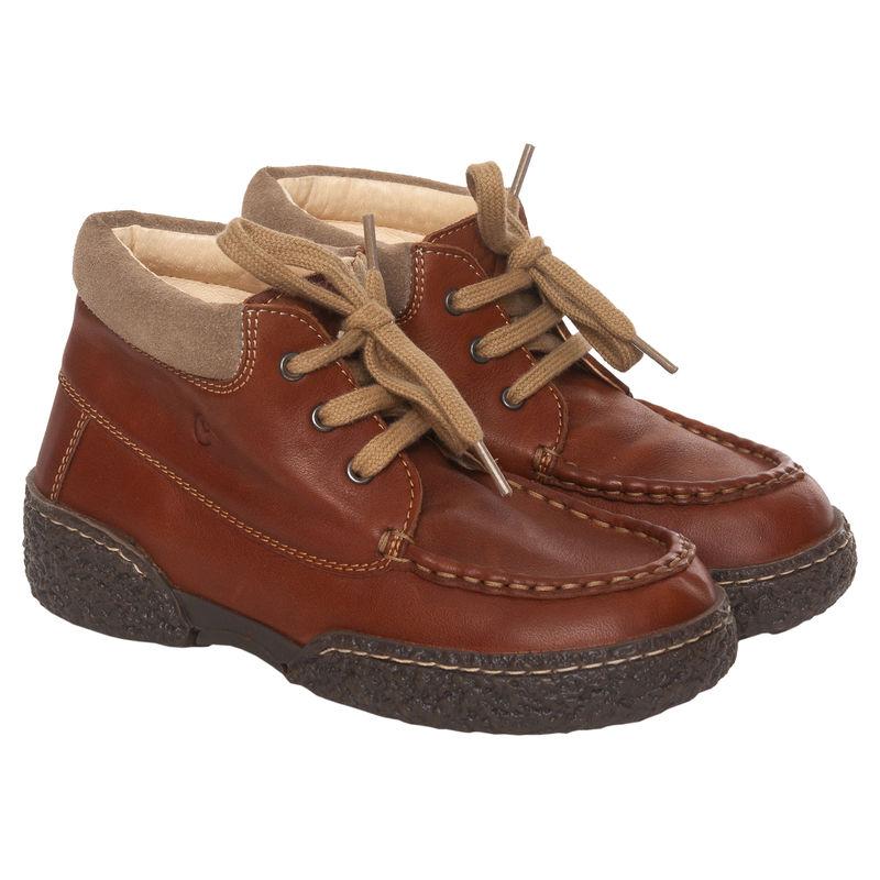 Ботинки карамельного цвета