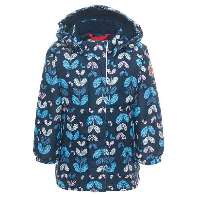 Куртка синяя с рисунком