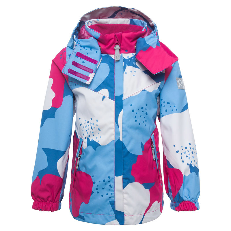Куртка с разноцветным принтом
