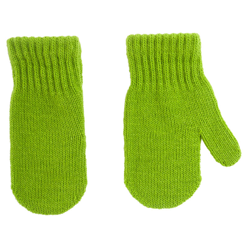 Варежки зелёные