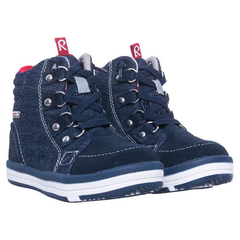 Ботинки мембранные синие