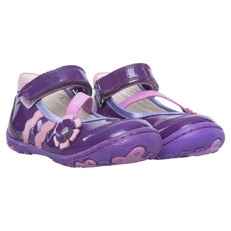 Туфли фиолетовые