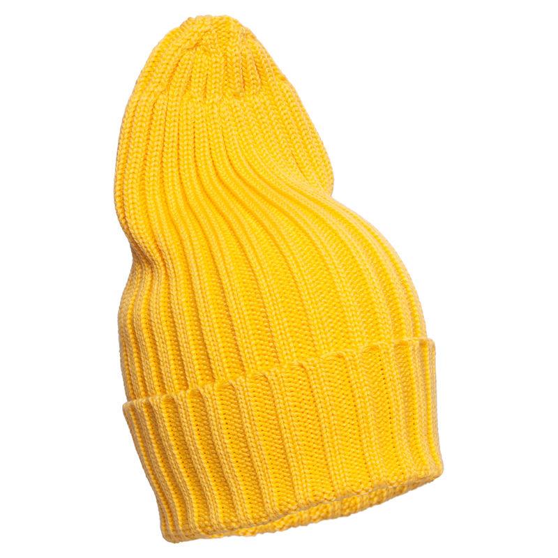 Шапка ярко-жёлтая