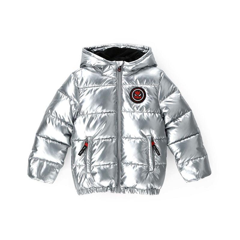 Куртка серебристого цвета