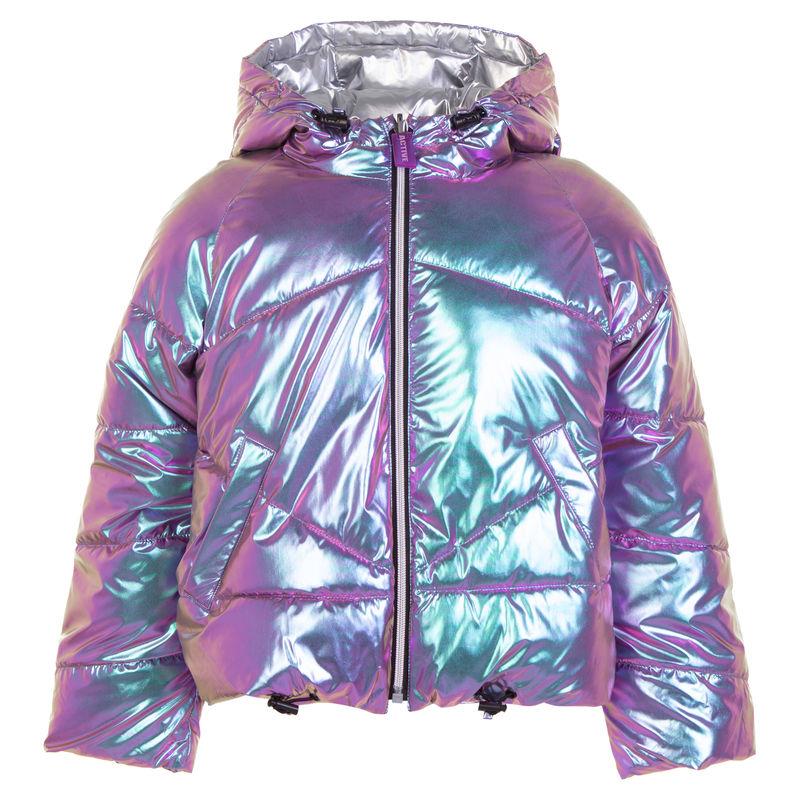 Куртка двусторонняя хамелеон-серебро